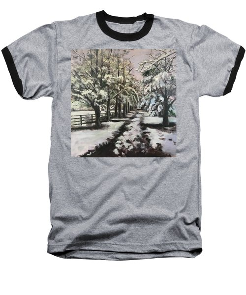 Winter Walk Baseball T-Shirt