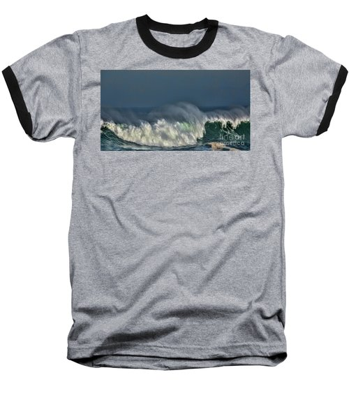 Winter Waves And Veil Baseball T-Shirt