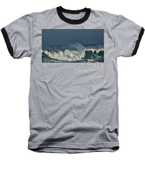 Winter Waves And Veil Baseball T-Shirt