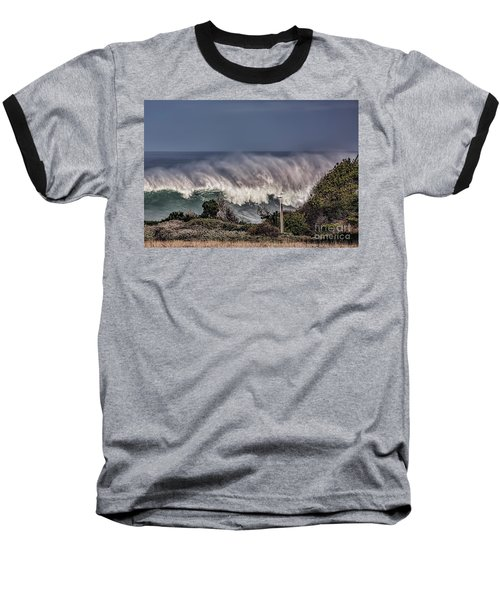 Winter Waves Baseball T-Shirt