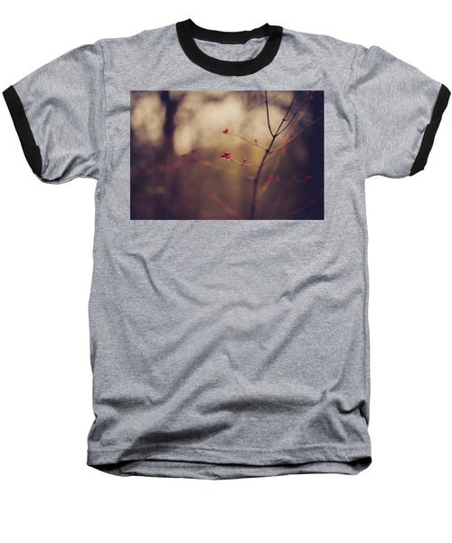 Baseball T-Shirt featuring the photograph Winter Whispers by Shane Holsclaw