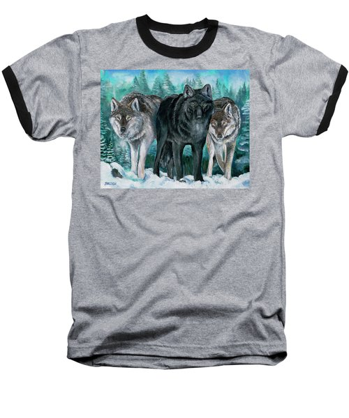 Winter Wolves Baseball T-Shirt