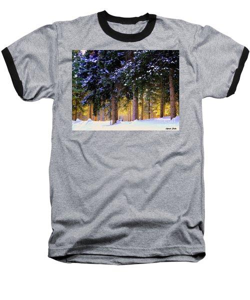Winter Wonder Baseball T-Shirt