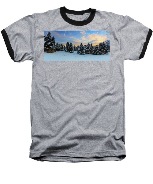 Baseball T-Shirt featuring the photograph Winter Wonderland  by Emmanuel Panagiotakis