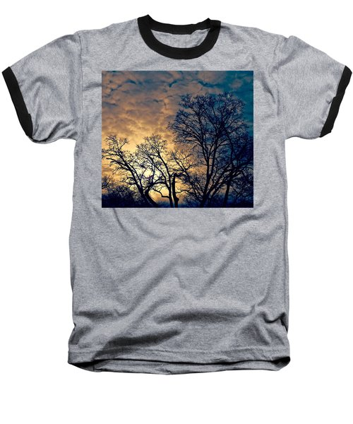 Winter's Afternoon Baseball T-Shirt