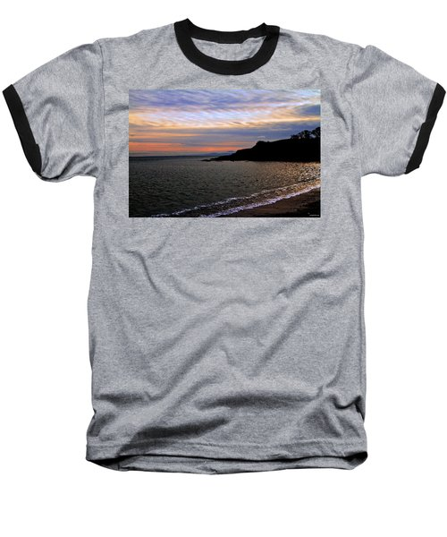 Winter's Beachcombing Baseball T-Shirt