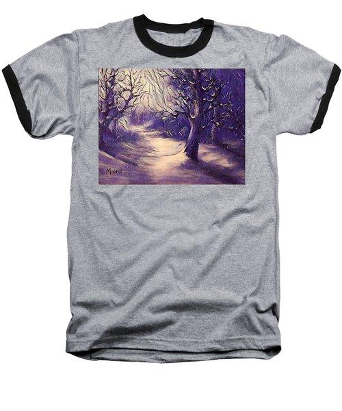 Winter's Beauty Baseball T-Shirt