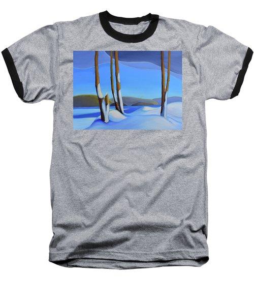 Winter's Calm Baseball T-Shirt