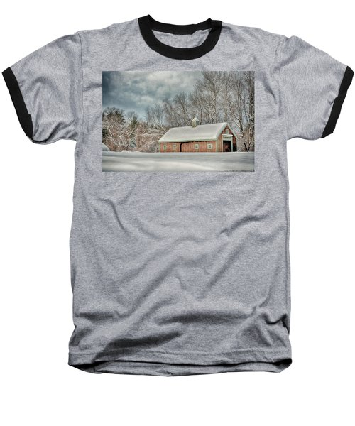 Winters Coming Baseball T-Shirt by Tricia Marchlik