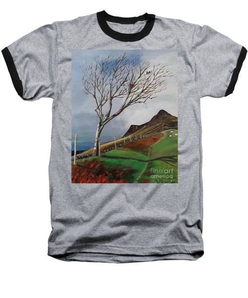 Winter's Day At Yewbarrow -painting Baseball T-Shirt