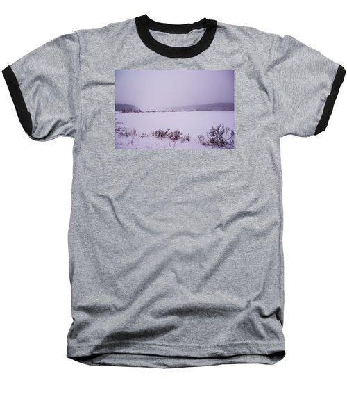 Winter's Desolation Baseball T-Shirt