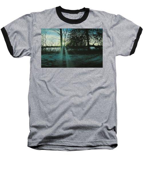 Winter's Evening Scout Baseball T-Shirt