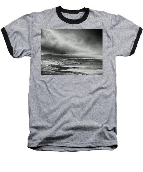 Baseball T-Shirt featuring the photograph Winter's Song by Steven Huszar