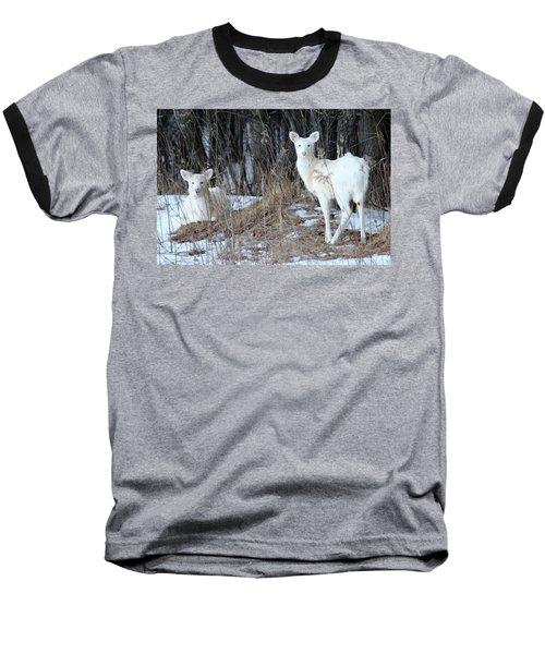 Wintery White Baseball T-Shirt