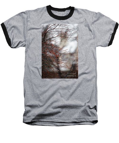 Wintry Mix Baseball T-Shirt