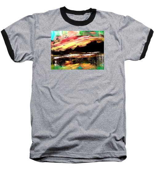 Wintry Morning Baseball T-Shirt