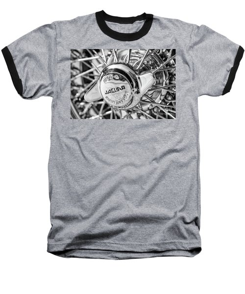 Baseball T-Shirt featuring the photograph Wire Wheel Black And White by Dennis Hedberg