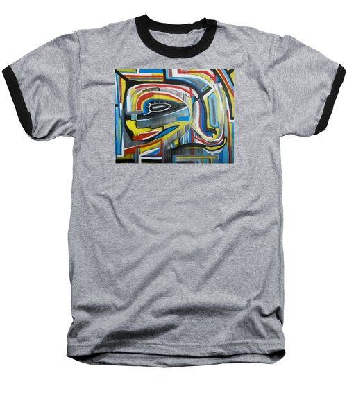 Wired Dreams  Baseball T-Shirt by Jose Rojas