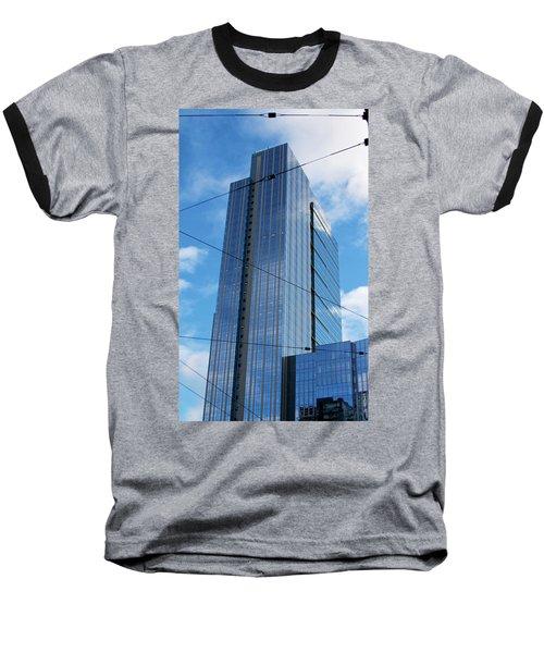 Wired In Seattle - Skyscraper Art Print Baseball T-Shirt