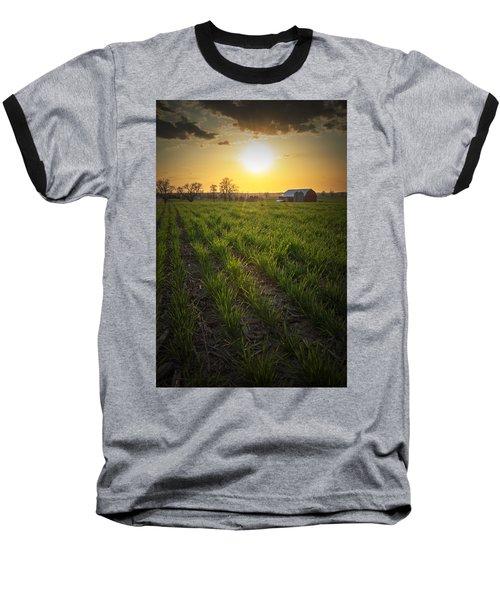 Wisconsin Farm Baseball T-Shirt