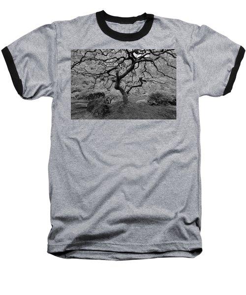 Baseball T-Shirt featuring the photograph Wisdom Bw by Jonathan Davison