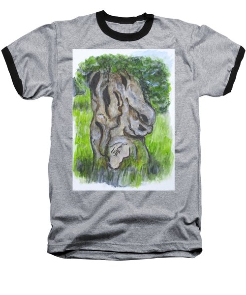 Wisdom Olive Tree Baseball T-Shirt