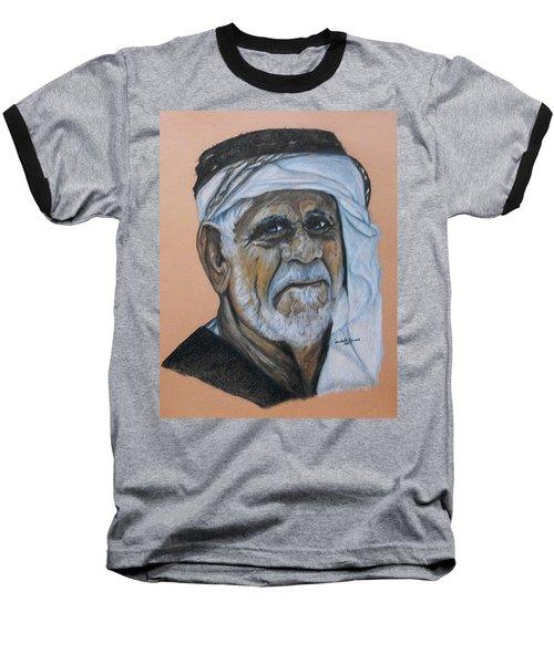 Wisdom Portrait Baseball T-Shirt