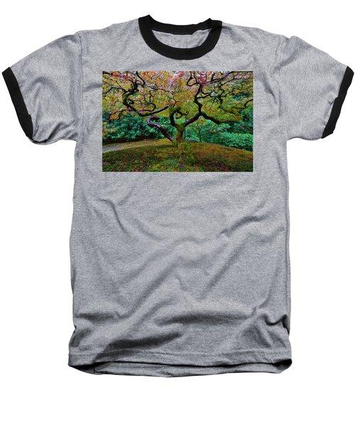 Baseball T-Shirt featuring the photograph Wisdom Tree by Jonathan Davison
