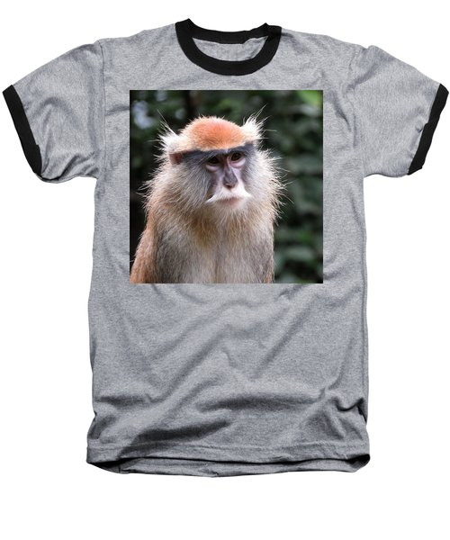 Wise Eyes Baseball T-Shirt by Keith Stokes