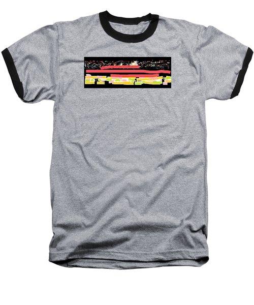 Wish - 60 Baseball T-Shirt by Mirfarhad Moghimi