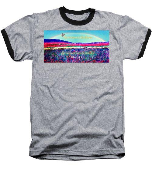 Wishing You The Sunshine Of Tomorrow Bereavement Card Baseball T-Shirt by Kimberlee Baxter