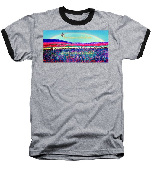 Wishing You The Sunshine Of Tomorrow Bereavement Card Baseball T-Shirt