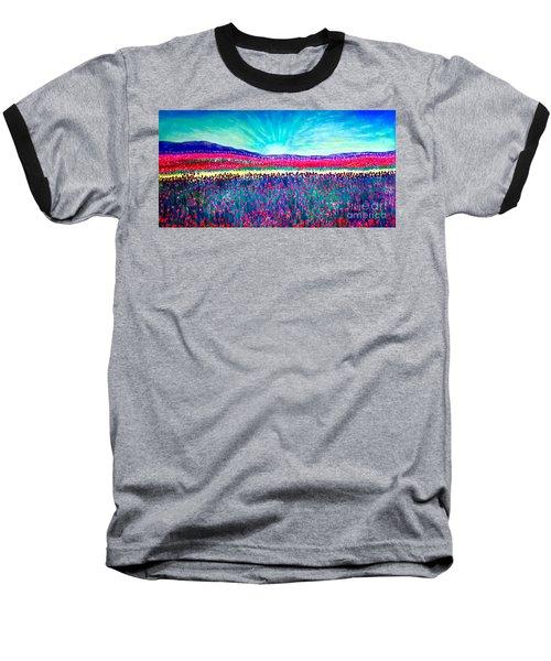 Wishing You The Sunshine Of Tomorrow Baseball T-Shirt by Kimberlee Baxter
