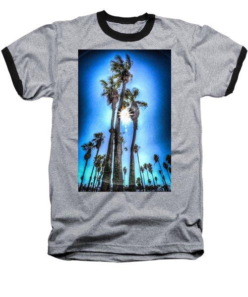 Wispy Palms Baseball T-Shirt