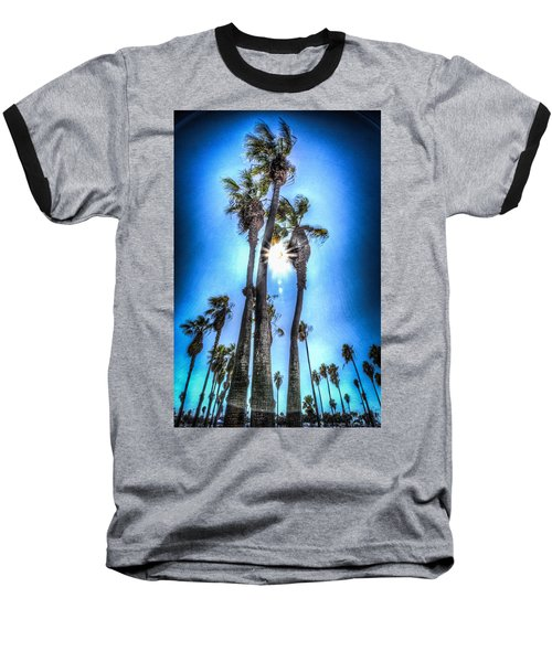 Wispy Palms Baseball T-Shirt