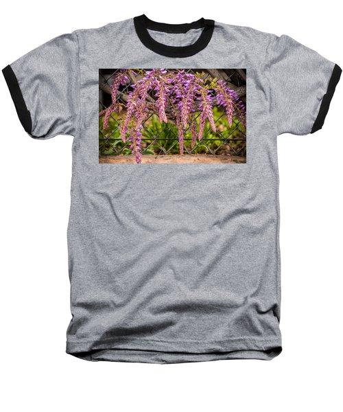 Wisteria Blooming Baseball T-Shirt