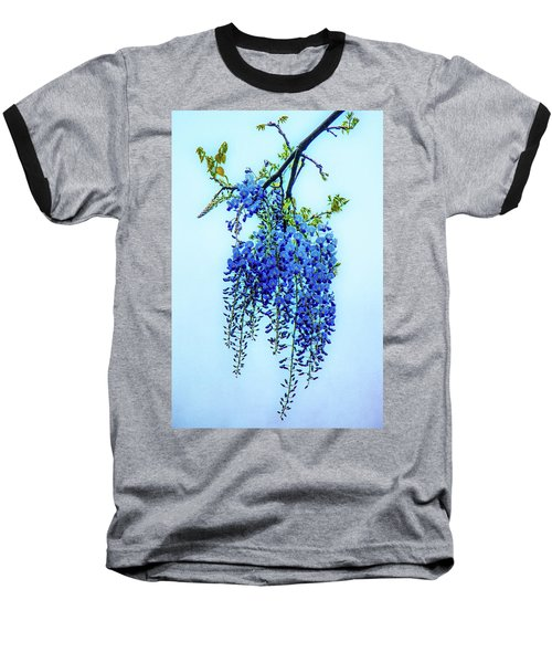 Baseball T-Shirt featuring the photograph Wisteria by Chris Lord