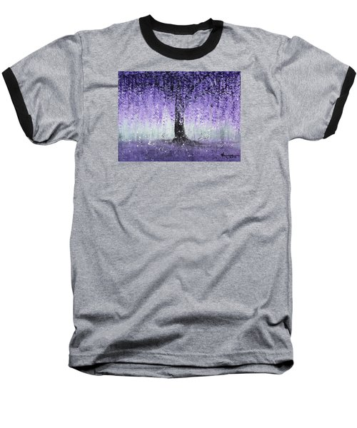 Wisteria Dream Baseball T-Shirt