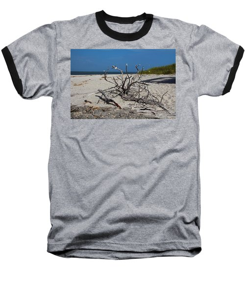 Baseball T-Shirt featuring the photograph Wistful But Unwavering by Michiale Schneider
