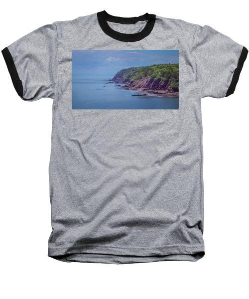 Wistful Songs Of The Ocean Baseball T-Shirt