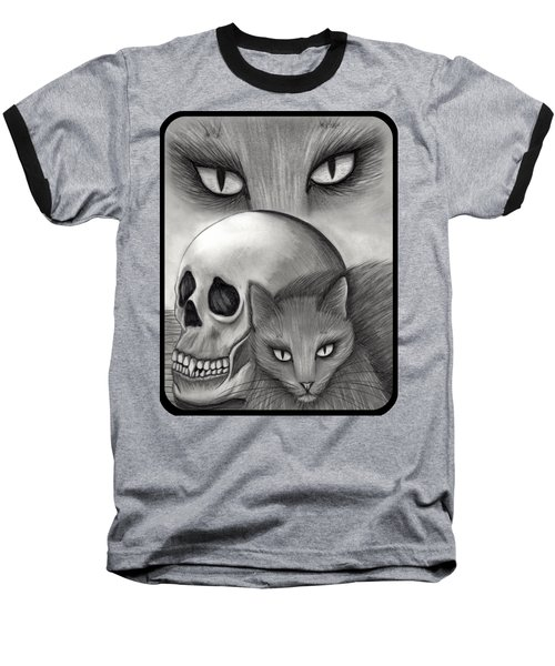 Witch's Cat Eyes Baseball T-Shirt