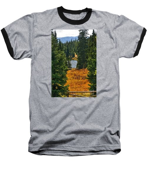 With A View Baseball T-Shirt