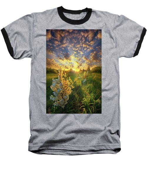 Baseball T-Shirt featuring the photograph With An Angel By My Side by Phil Koch
