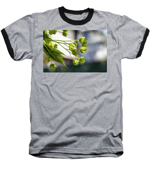 With The Breeze - Baseball T-Shirt
