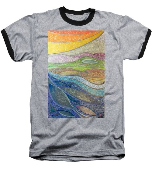 With The Flow Baseball T-Shirt