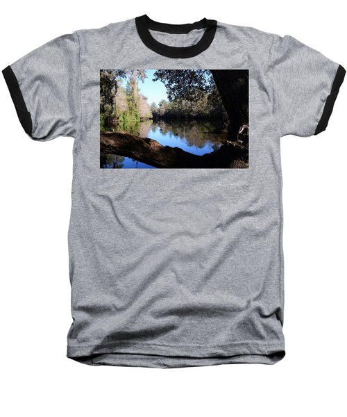 Withlacoochee Overlook Baseball T-Shirt by Warren Thompson