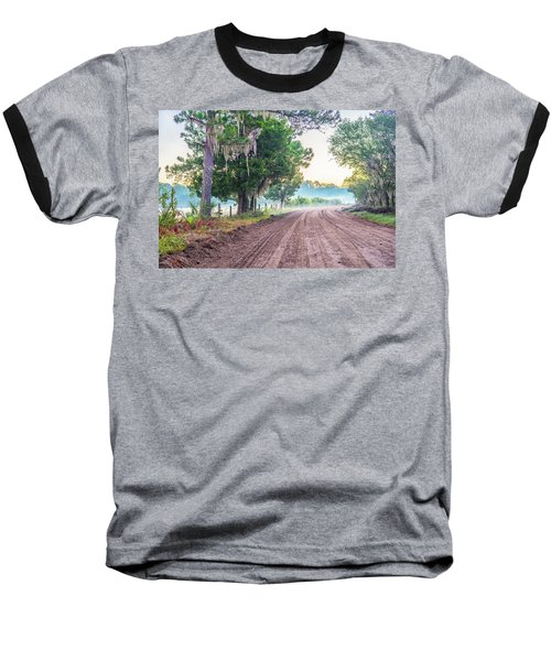 Witsell Rd - Church Field Fog Baseball T-Shirt
