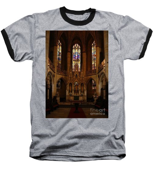 Wittenberg Castle Church 5 Baseball T-Shirt