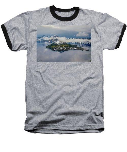 Wizard Island Baseball T-Shirt