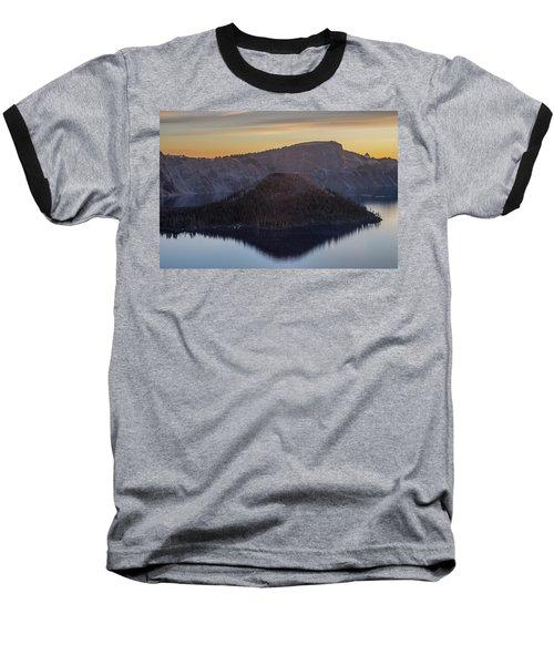 Wizard Island Morning Baseball T-Shirt